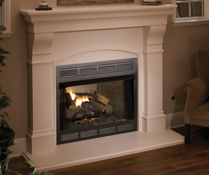 Gas fireplace category
