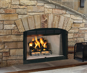 Wood fireplaces category